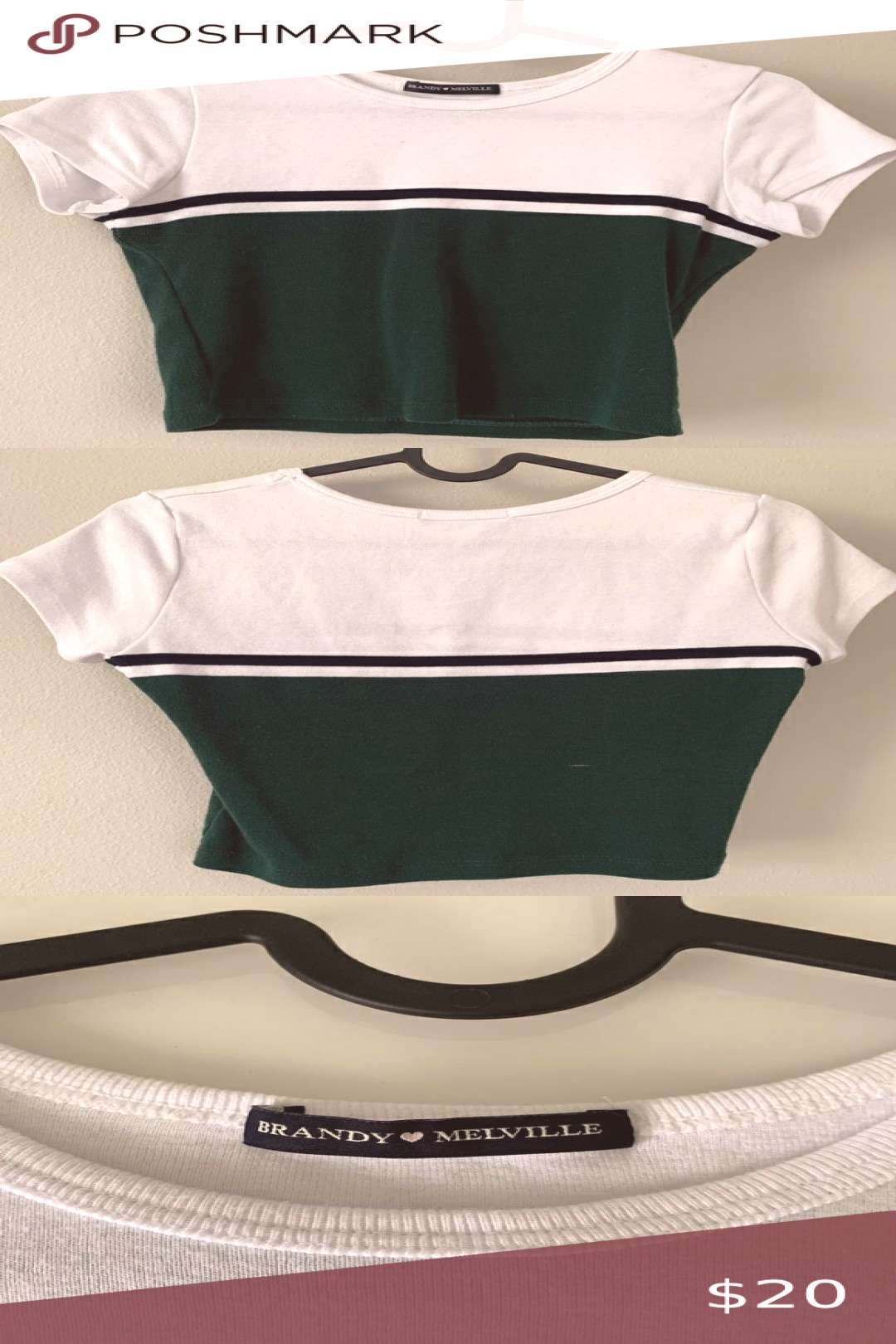 ☆ brandy melville tee ☆ ★ super cute little brandy melville top  ★ perfect condition (one