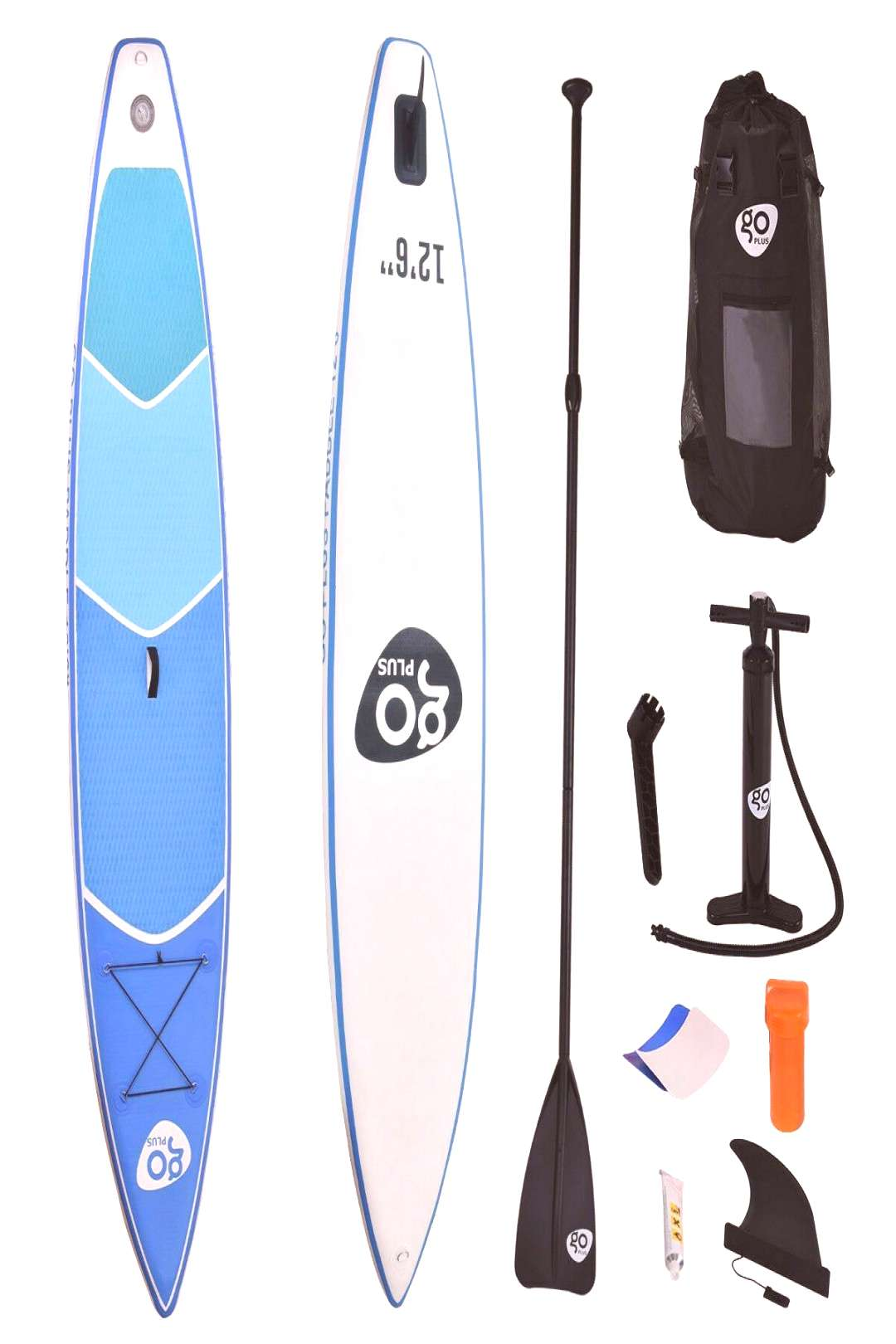 12.5 Inflatable Stand Up Paddle Board w- Paddle