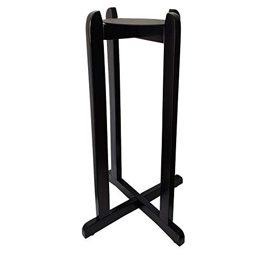 30quot Water Dispenser Floor Wood Stand - Painted Black - Use