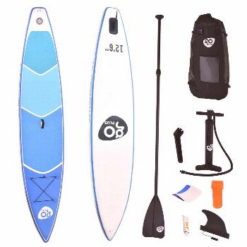 12.5' Inflatable Stand Up Paddle Board w- Paddle