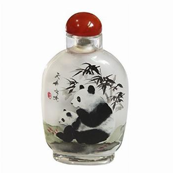 Ancient-Gift Handicraft Snuff Bottle - Inside Painted with
