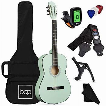 Best Choice Products 38in Beginner All Wood Acoustic Guitar