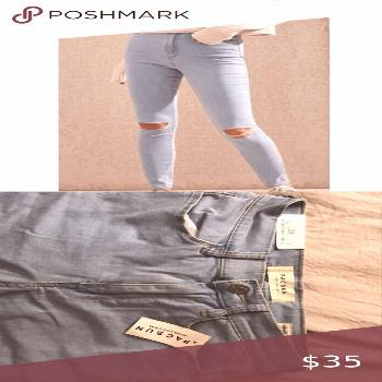 I just added this listing on Poshmark: High-Rise Jeggings Pacsun.