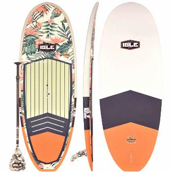 ISLE Limited Edition Glider Water Paddle Board great for flat water and small Surf complete with a