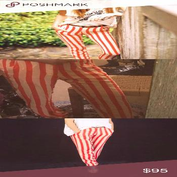 Lenni The Label Fever Pants in Candy Paid with any vintage tees! 100% viscose!! New with tags! Lenn