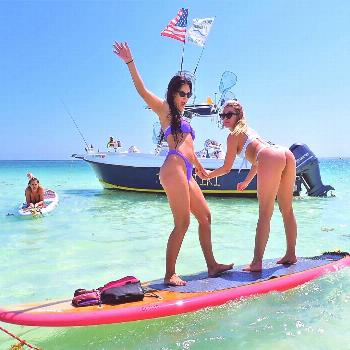 Life is better on the paddle board . Life is better on the paddle board .Our sup time . Photo @keyl
