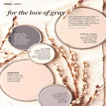 Love the paint colors you saw in the Better Homes and Gardens color story? Get the paint color name