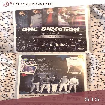 One Direction Up All Night Live Tour One Direction Up All Night Live Tour DVD ?    1D Other