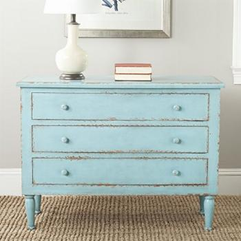 Safavieh American Homes Collection Tablet Distressed Blue 3