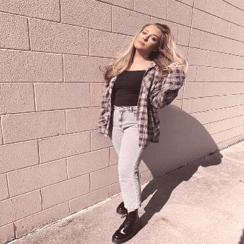 simple flannel outfit -    -
