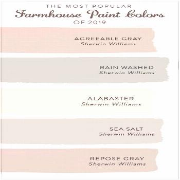 The Most Popular Farmhouse Paint Colors of 2020 - Decor Steals Blog - The Most Popular Farmhouse Pa