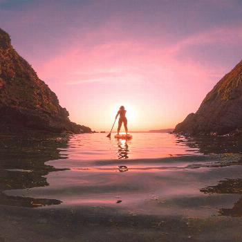 Throw back to summer paddle board sessions! Throw back to summer paddle board sessions!Summer Sunse