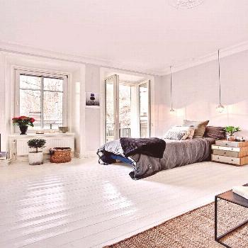 White Painted Floors - Claire Brody Designs