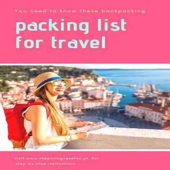 You Need to Know These Backpacking Packing list for Travel  You don't have to pack too many garme