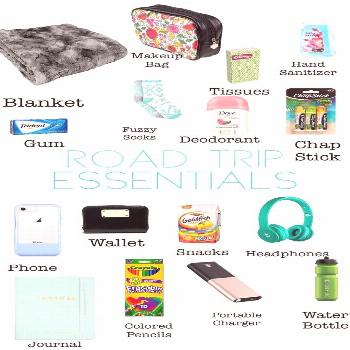 Your Road Trip Essentials Packing List—Including a PRINTABLE Checklist Road Trip Essentials! What
