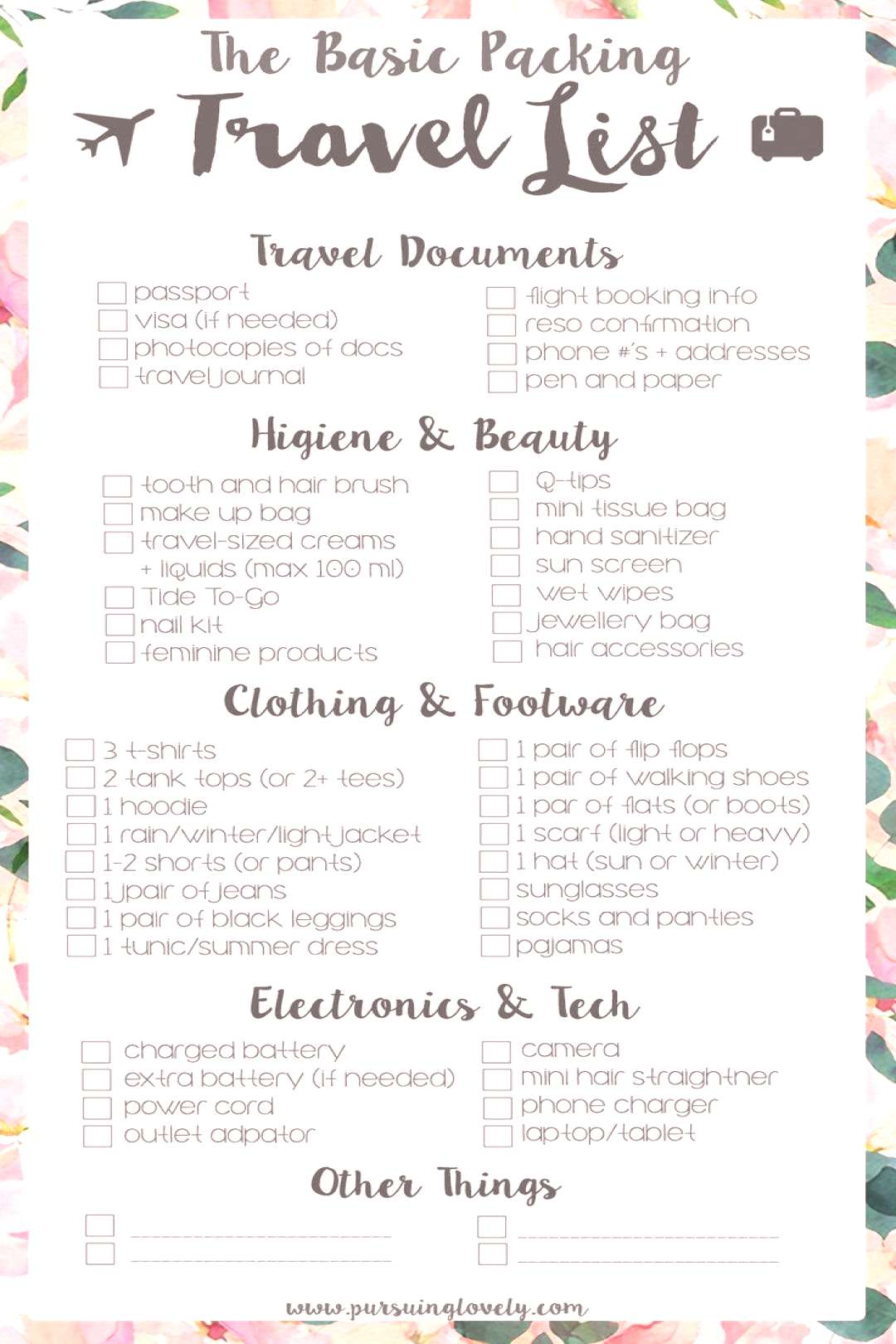 Beach vacation packing list family. Pack travel-size toiletries or in case you have some old hotel