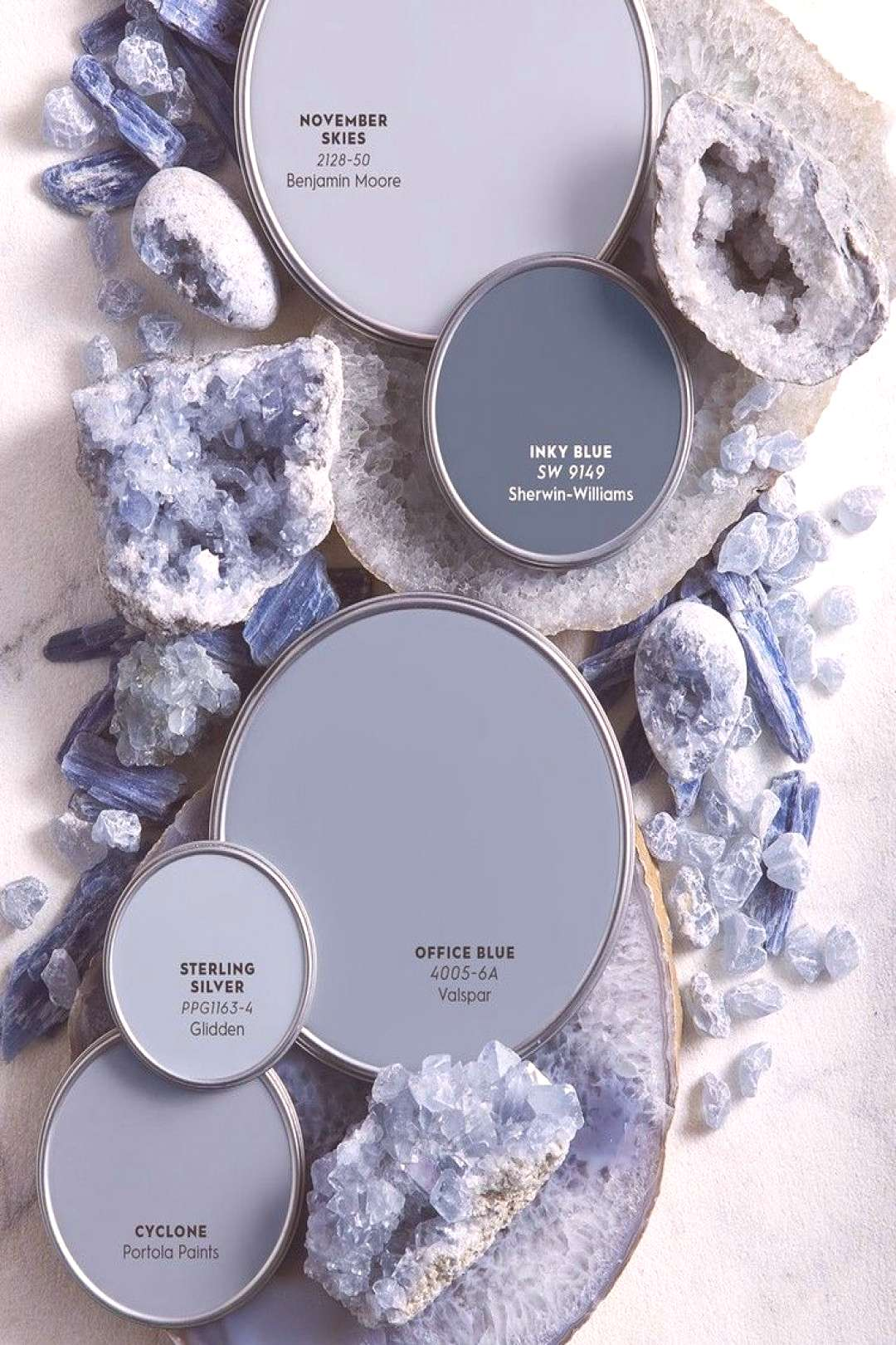 Color Report The Restorative Power of Mineral Hues
