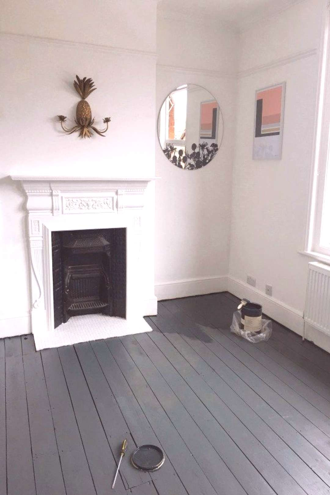 DIY   Sanding and Painting Floors my top tips for the best results. Paint Shade Railings