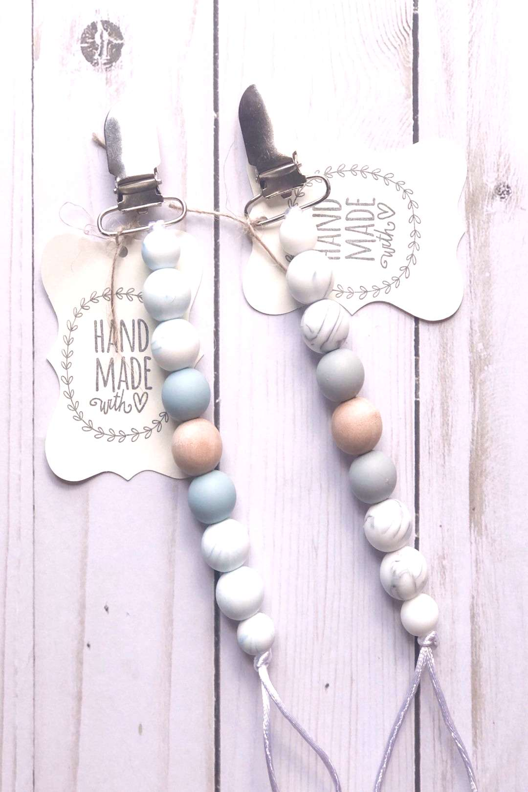 Excited to share this item from my shop Silicone pacifier clip, Pacifier Clip, Silicone teether, p