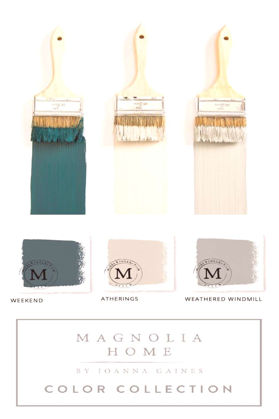Home Decor Inspiration This collection of Magnolia Home Paint from designer Joanna Gaines offers