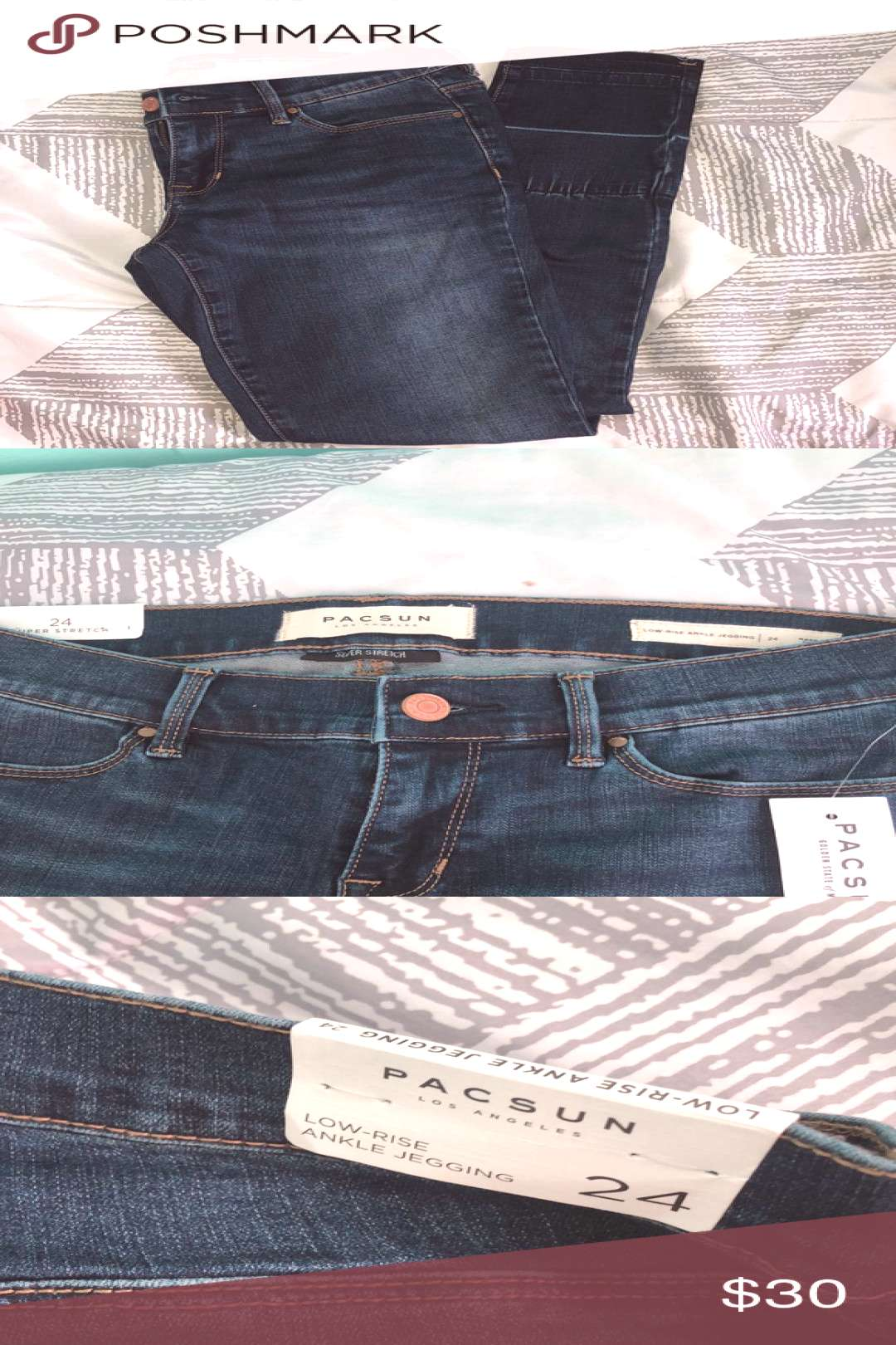 I just added this listing on Poshmark *NEW W/ TAGS* Blue Pacsun Jeans.