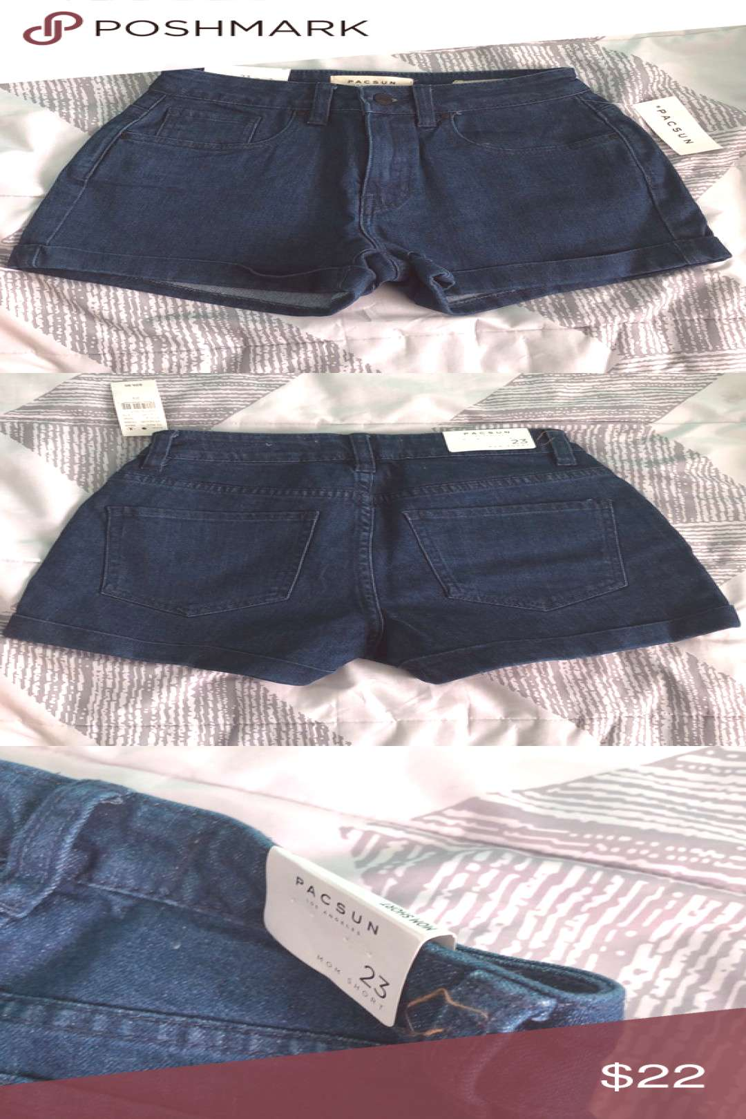 I just added this listing on Poshmark *NEW W/ TAGS* Pacsun Mom Shorts.