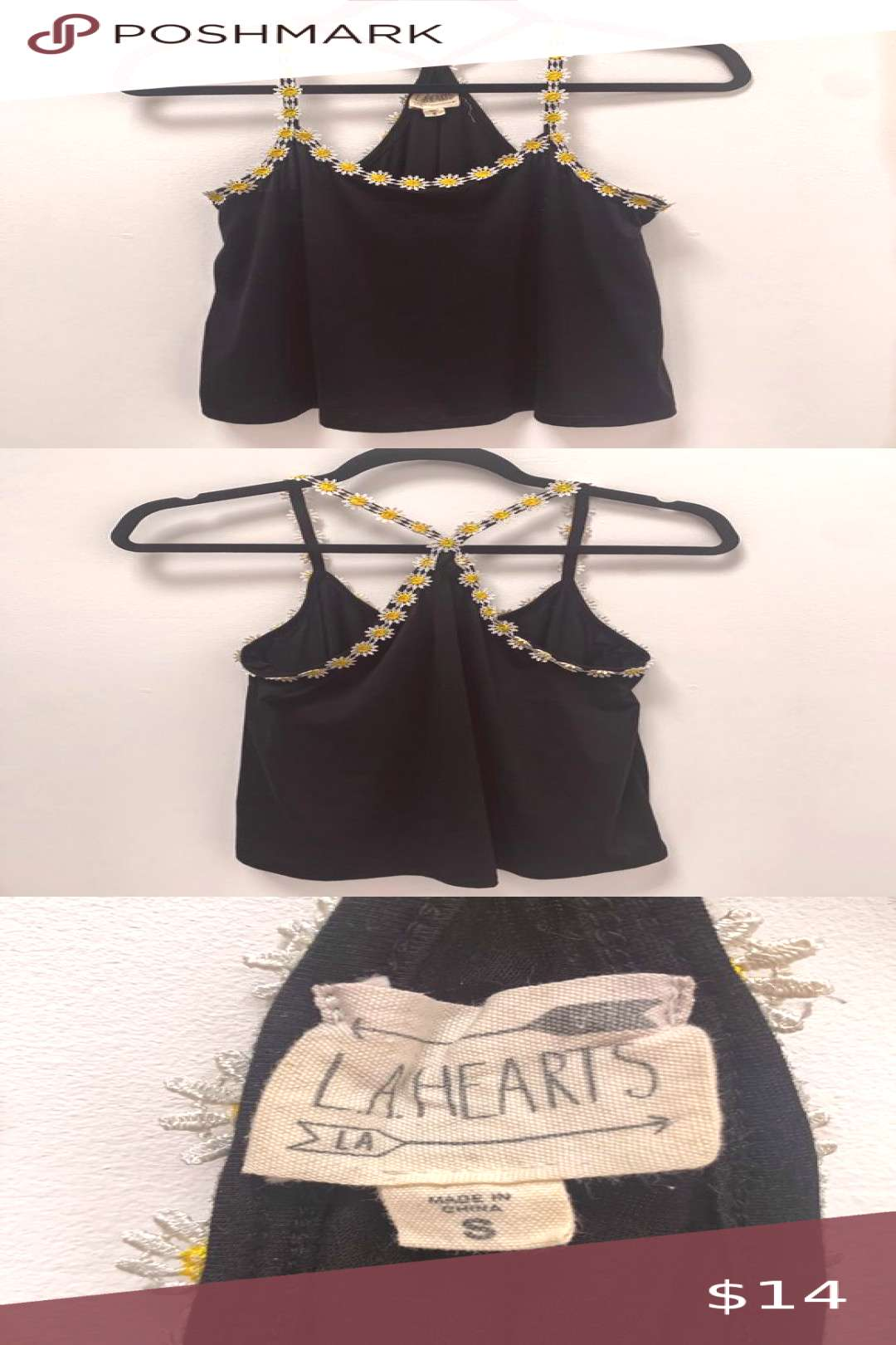 I just added this listing on Poshmark Pacsun daisy tank top.