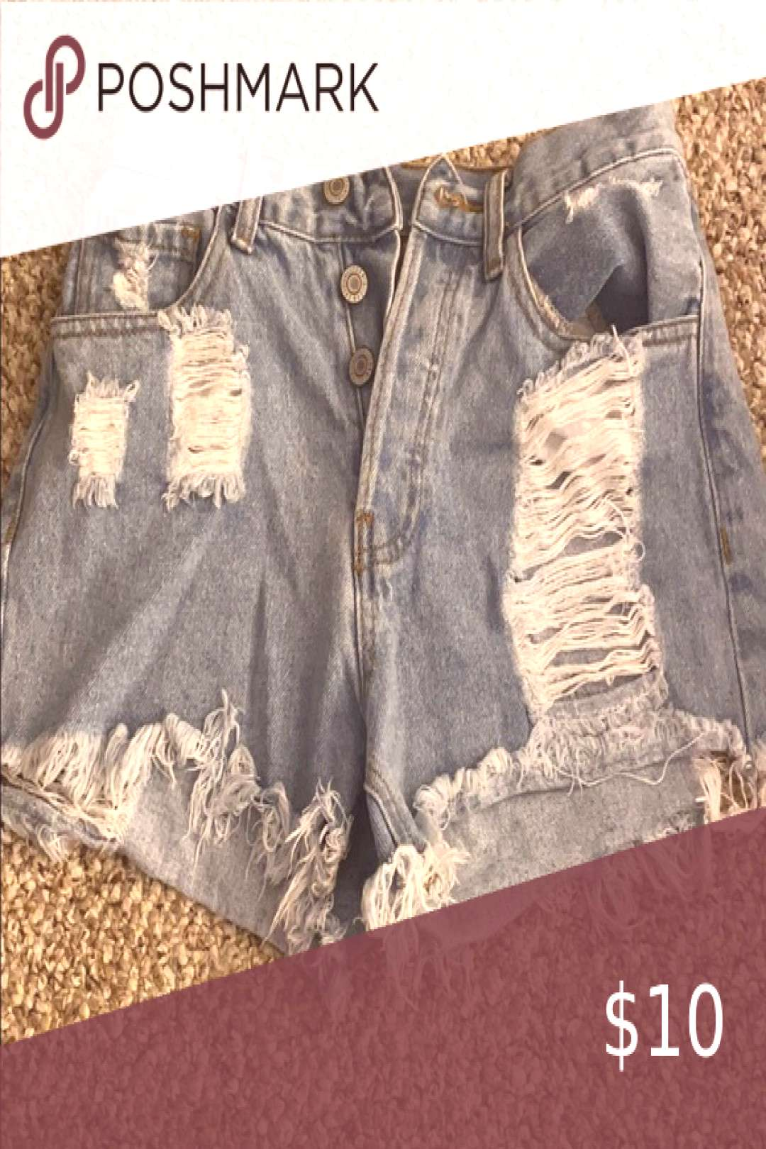 I just added this listing on Poshmark PacSun Jean shorts.