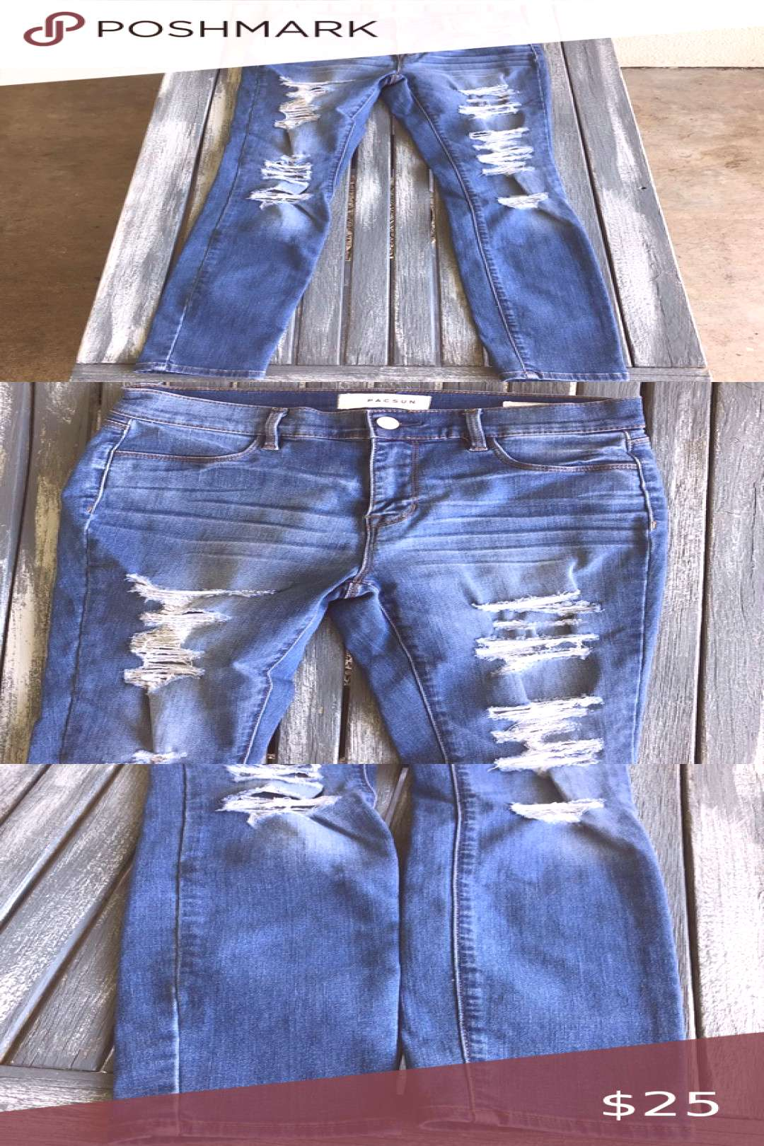 I just added this listing on Poshmark Pacsun Jeggings.