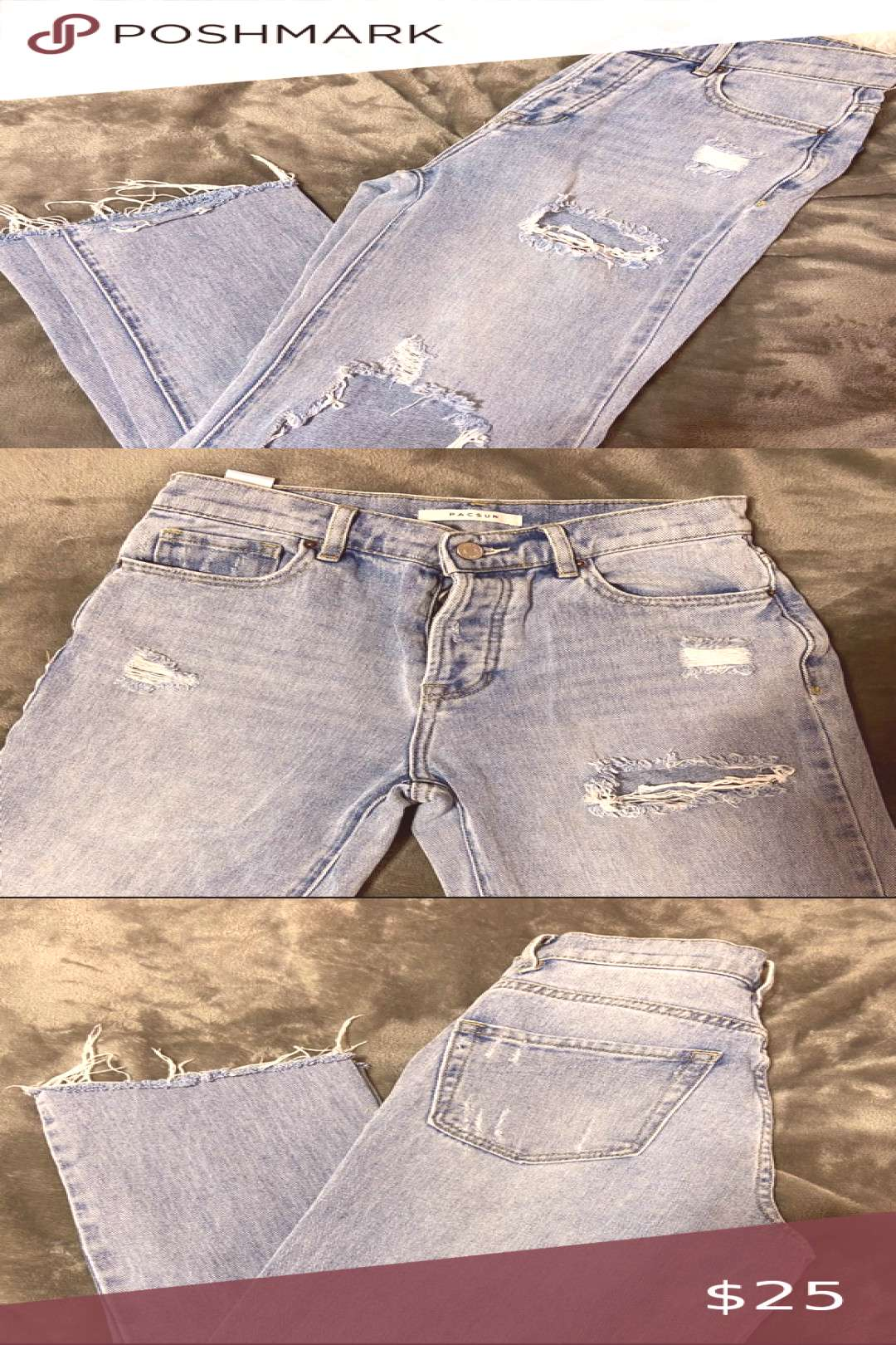 I just added this listing on Poshmark PACSUN MOM JEANS.