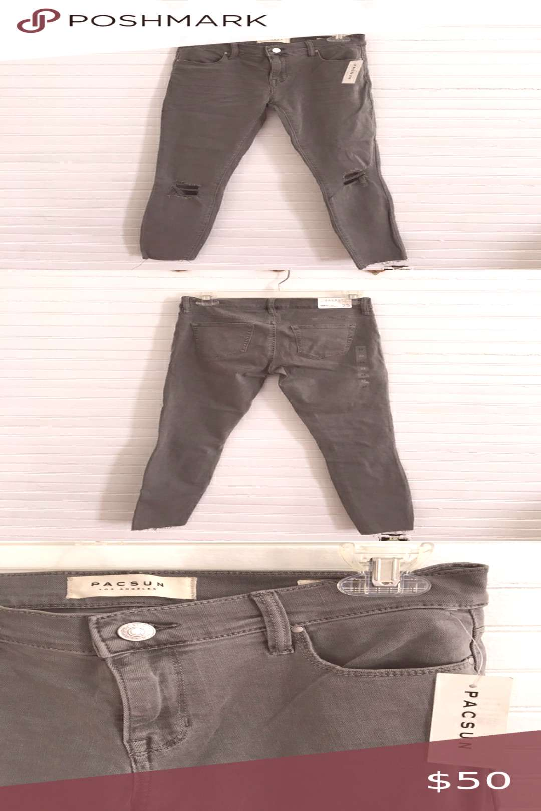 I just added this listing on Poshmark PacSun Perfect Fit Ankle Jegging Gray Skinny Jeans.