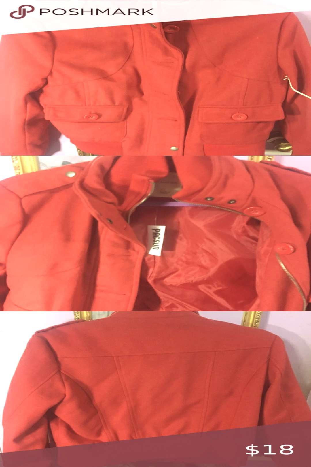 I just added this listing on Poshmark Pacsun red jacket. Blazers
