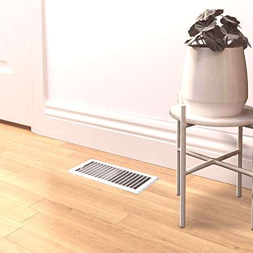 Imperial Manufacturing RG0247 Louvered Steel Painted Floor