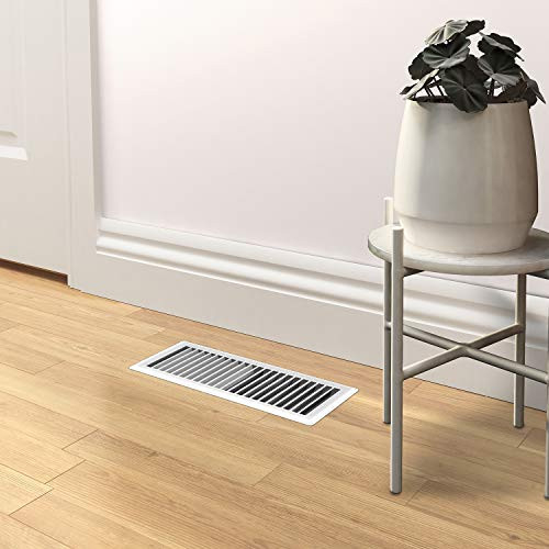 Imperial Manufacturing RG0267 Louvered Steel Painted Floor