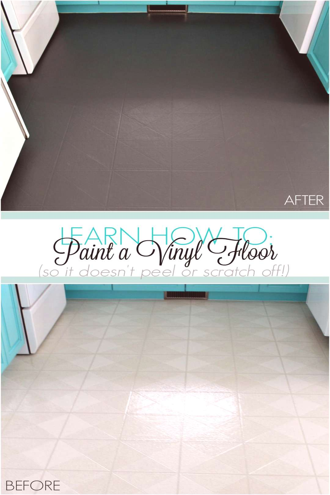 Learn How to Paint a Vinyl Floor That Wont Scratch or Peel Off. Find out how a vinyl floor has hel