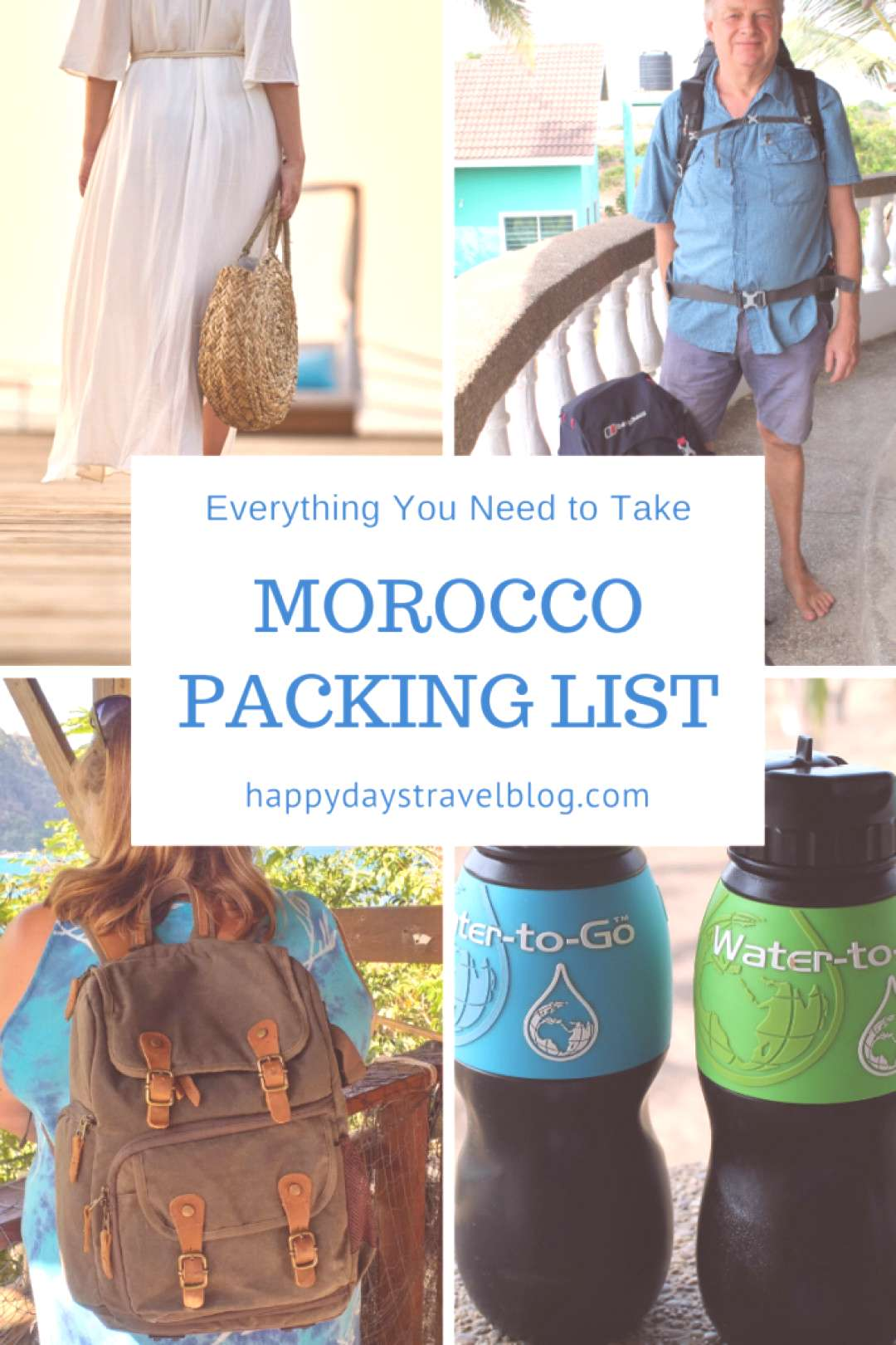 Morocco Packing List - Everything You Need - Happy Days Travel Blog