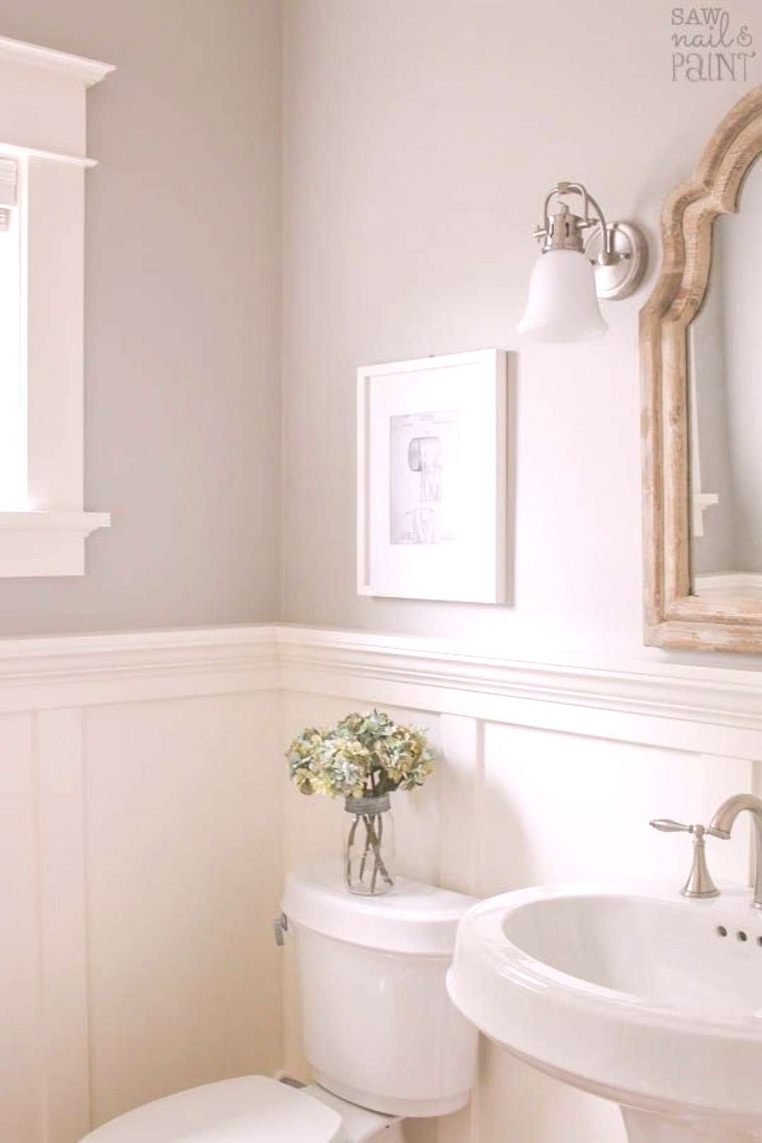 My Home Paint Colors Warm Neutrals and Calming Blues - Saw Nail and Paint My Home Paint Colors Wa