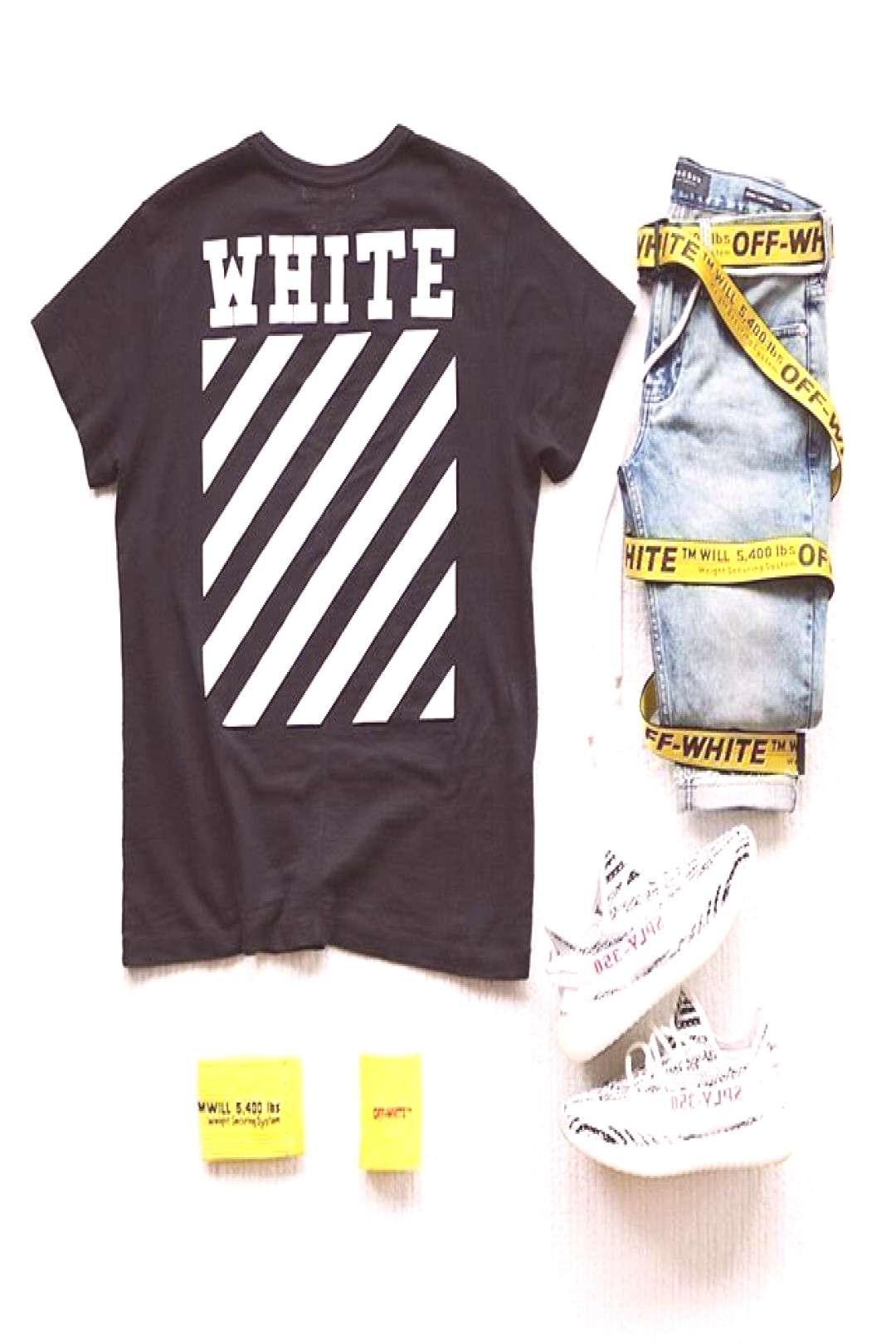 OFFGRID . Outfit Grids Dennis Todisco _________________________________ • OFF____WHITE Supreme