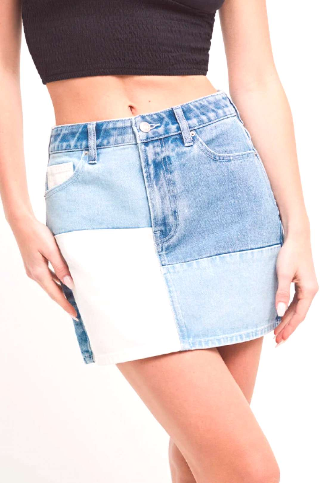 PacSun 5-Pocket Pieced Skirt PacSun 5-Pocket Pieced Skirt - PacSun takes your style to the next le