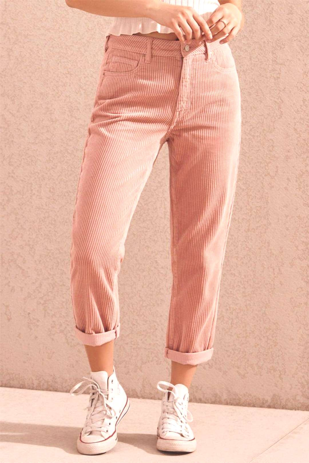 PacSun Hibiscus Cord Mom Jeans - PacSun Hibiscus Cord Mom Jeans -