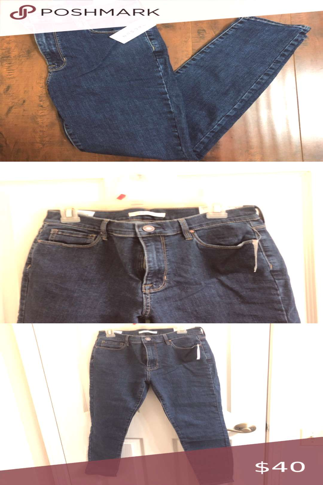 Spotted while shopping on Poshmark Dark wash high waisted pacsun jeans!