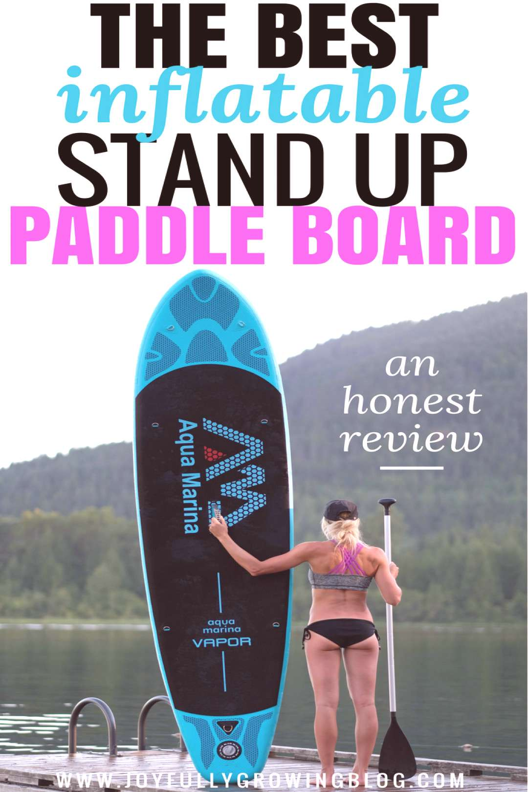 The best inflatable stand up paddle board (SUP) you can buy! Head to the post to see why this is my