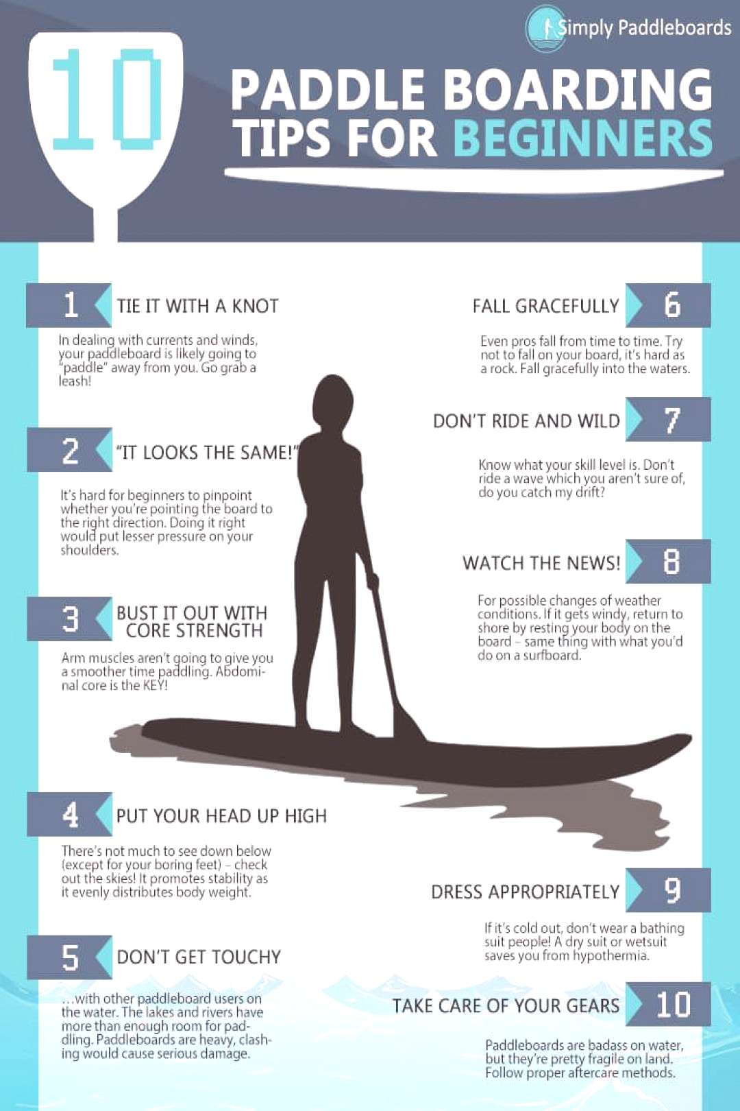 Top 10 Paddle Boarding Tips for Beginners
