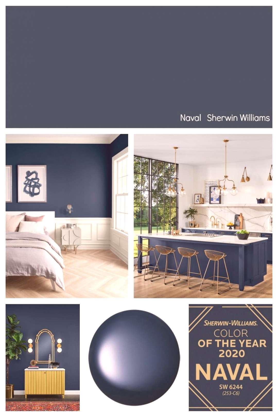 Were highlighting all of the paint manufacturers 2020 Colors of the Year with lots of room inspir