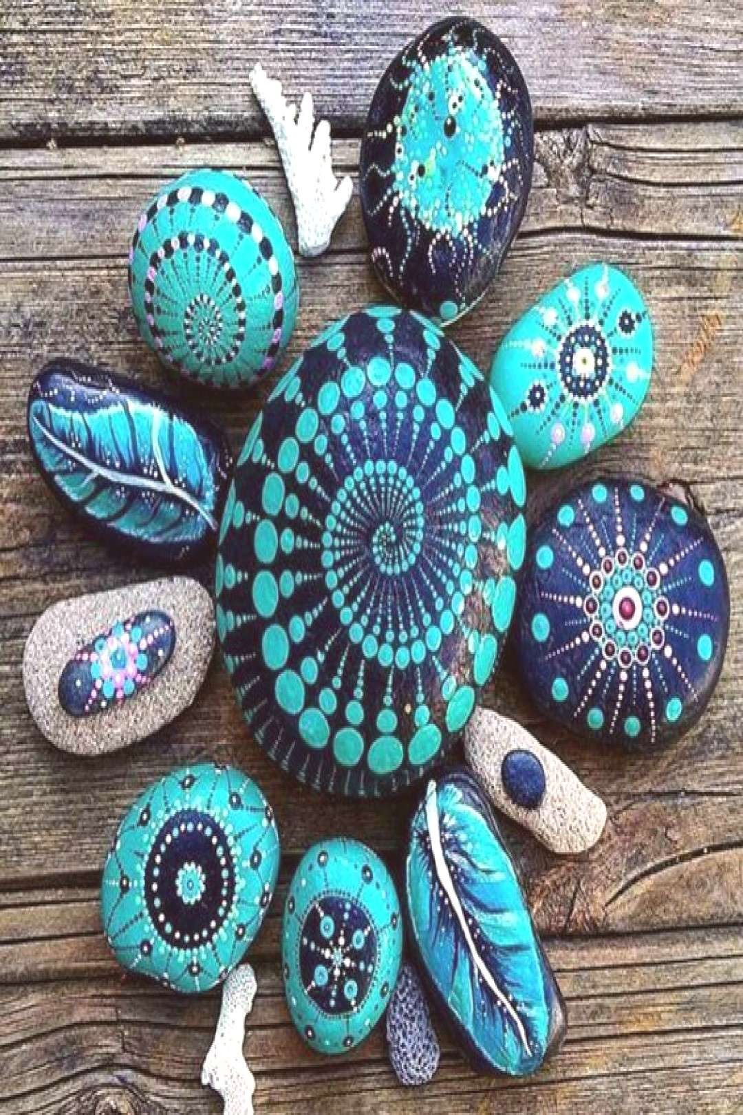 Wonderful DIY decoration ideas with painted pebbles | My desired home